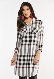 Extreme Plaid Tunic
