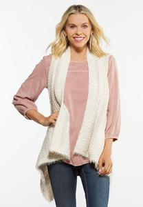 Plus Size Cozy Vest