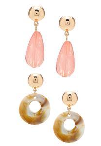 Lucite Earring Gift Set