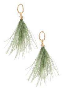 Dusty Feather Earrings