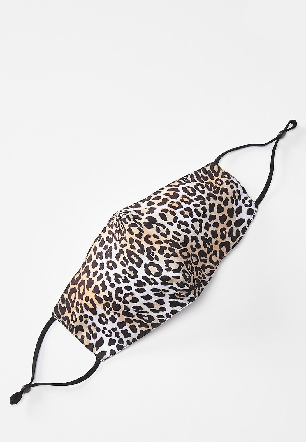 Luxe Leopard Face Mask
