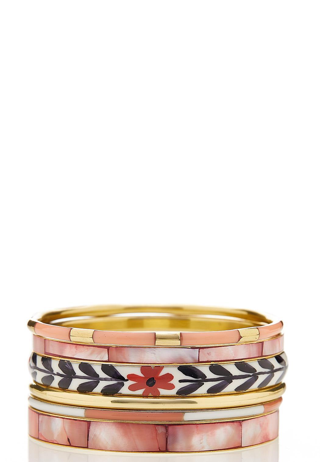 Coordinated Bangle Bracelet Set