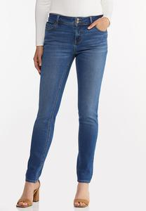 Double Button Jeggings