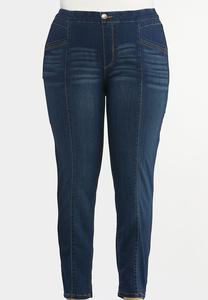 Plus Size Pull-On Jeggings