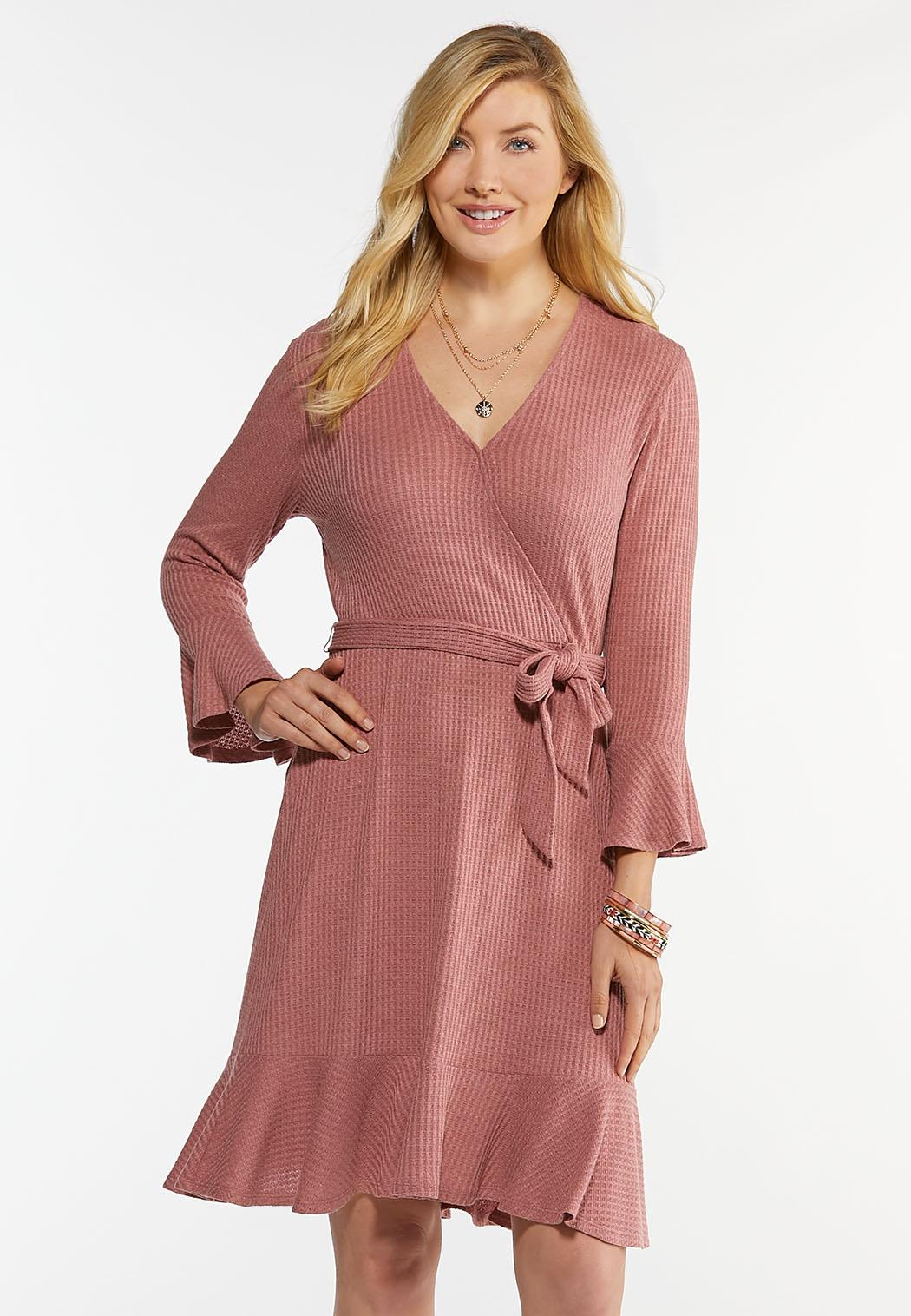 Rose Tie Waist Dress
