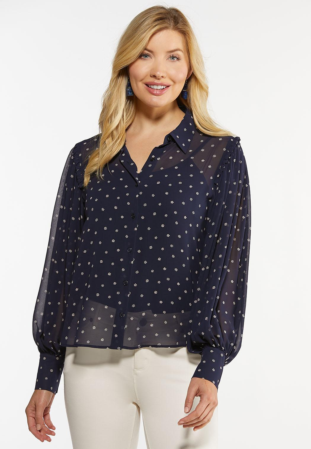 Dotted Dash Top