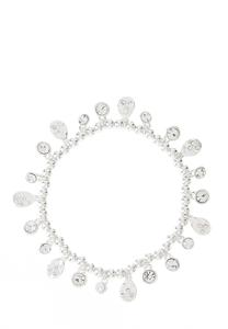 Rhinestone Charm Stretch Bracelet