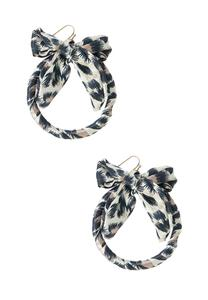 Animal Ribbon Earrings