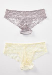 Plus Size Wild Honey Lace Panty Set