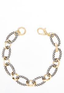 Two-Toned Link Bracelet