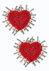 Bursting Heart Earrings