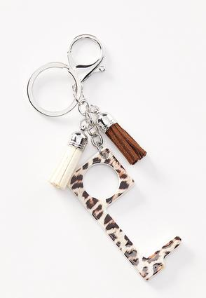 Leopard Door Opener Key Chain