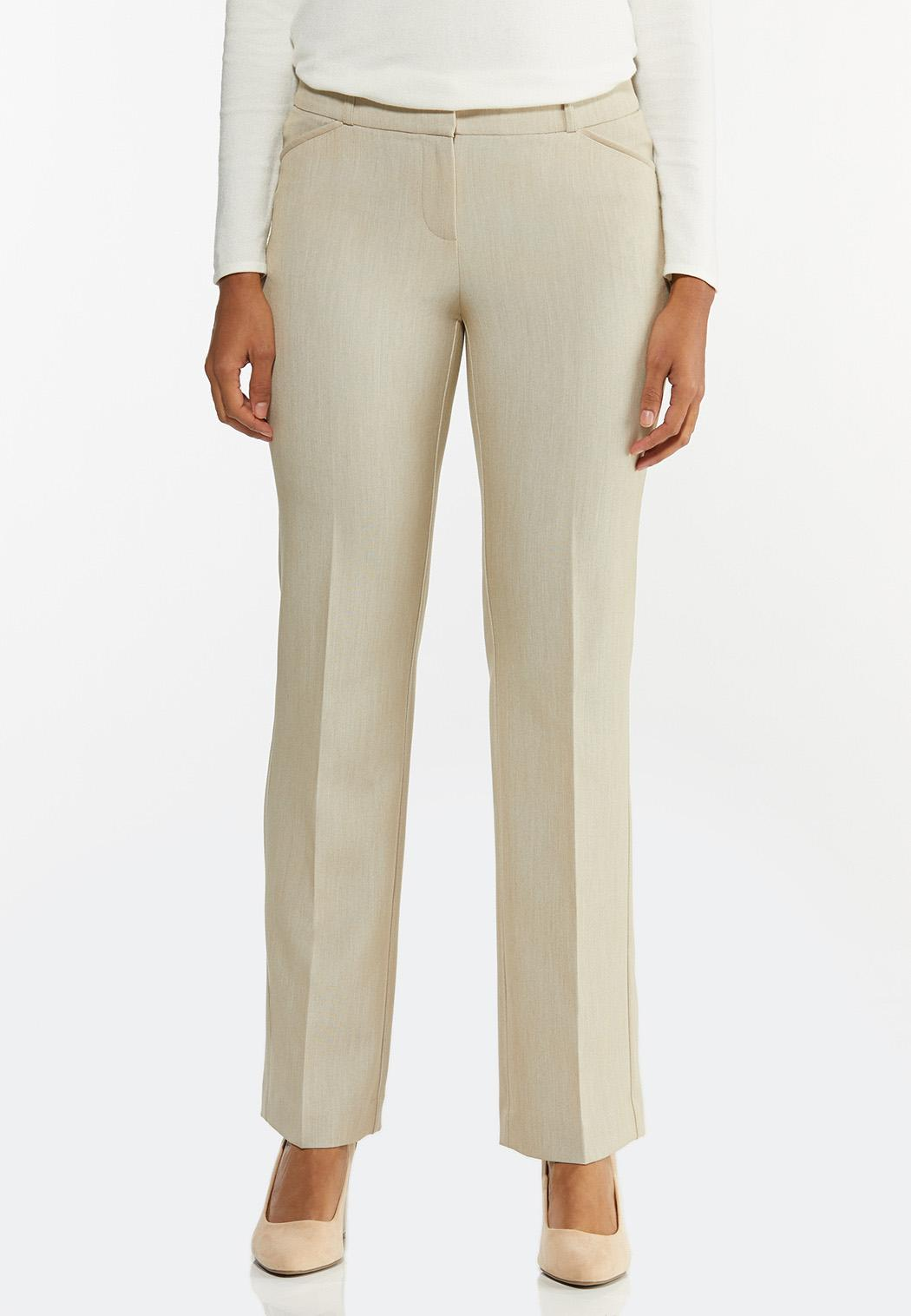 Tan Trouser Pants