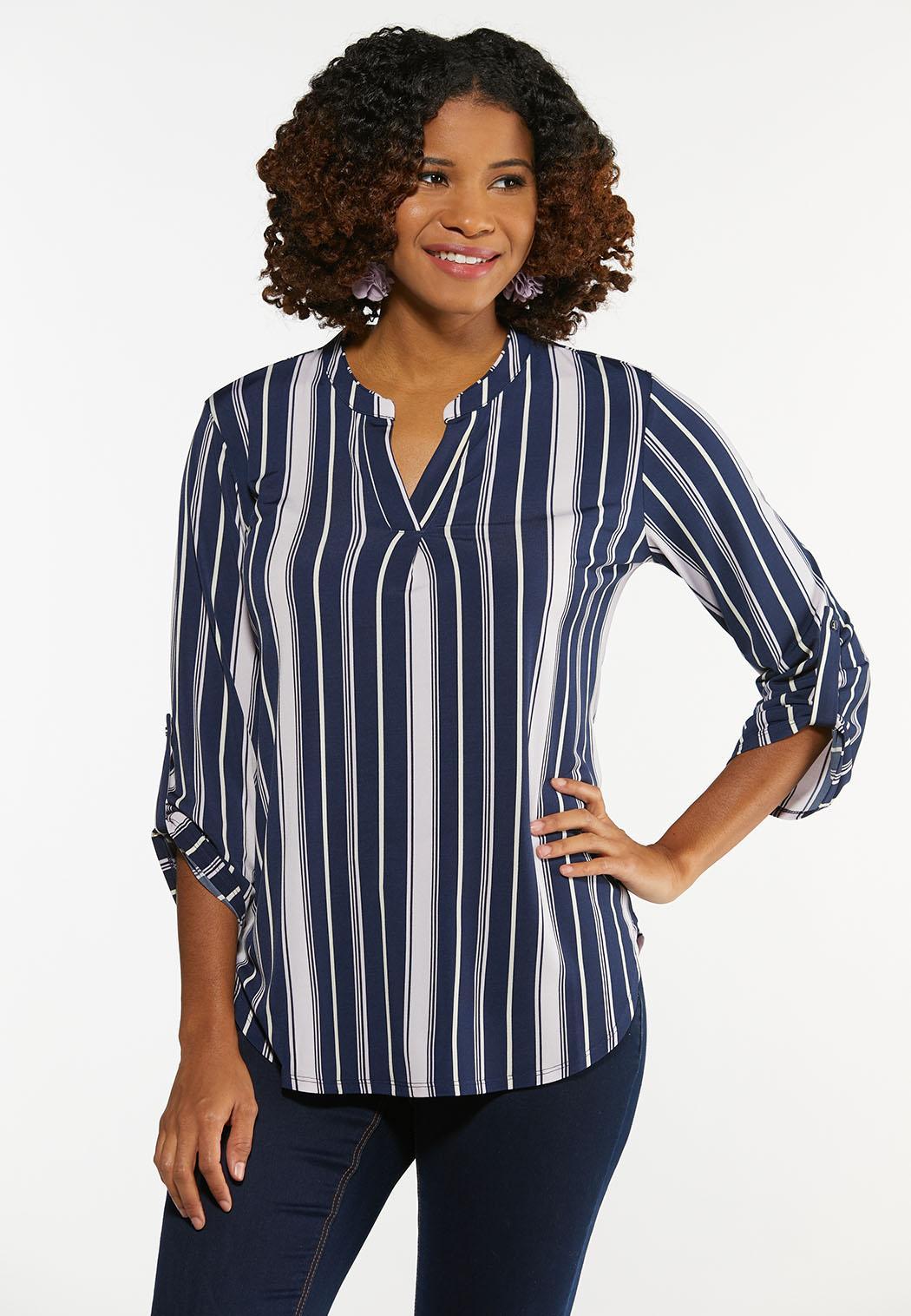 Dressy Striped Top