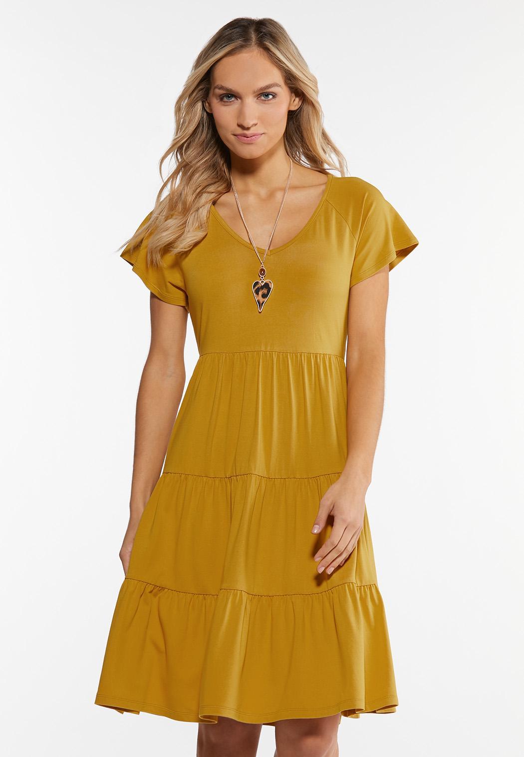 Tiers And Sunshine Dress