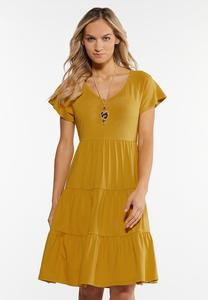 Plus Size Tiers And Sunshine Dress