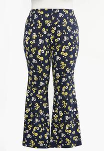 Plus Size Daisy Flare Pants