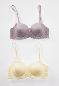 Plus Size Wild Honey Convertible Bra Set