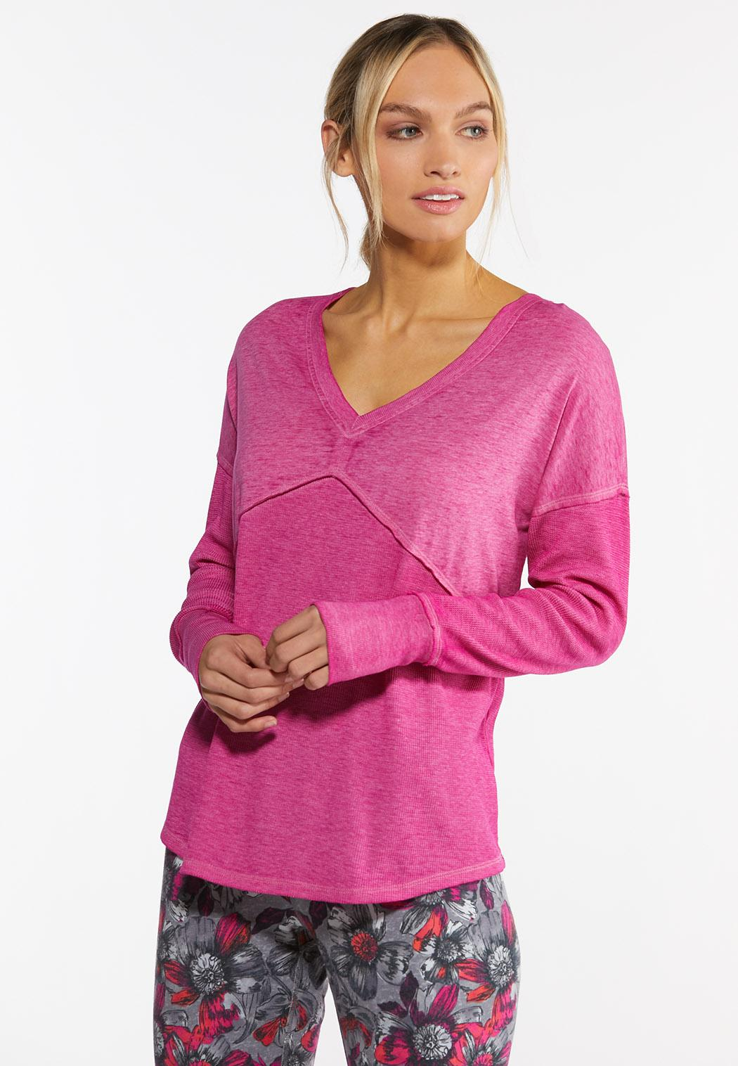 Plus Size Live Well Active Cross Back Top