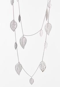 Shaky Leaf Necklace