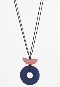 Rubber Mod Cord Necklace