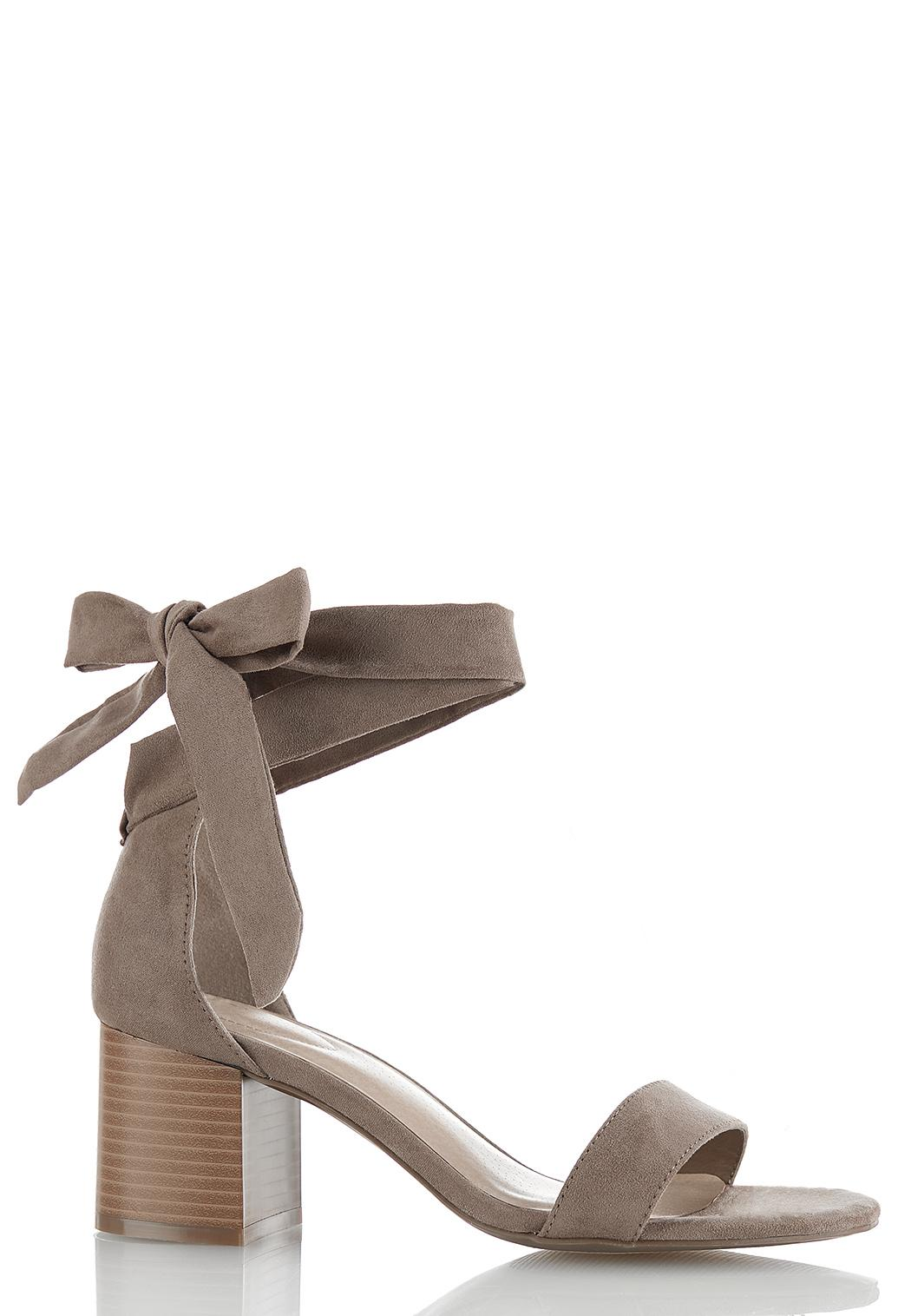 One Band Ankle Wrap Sandals
