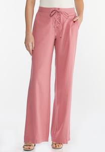 Rose Linen Pants