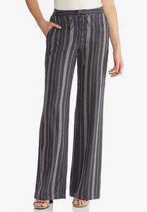 Stripe Linen Pants
