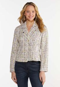 Tweed Moto Jacket
