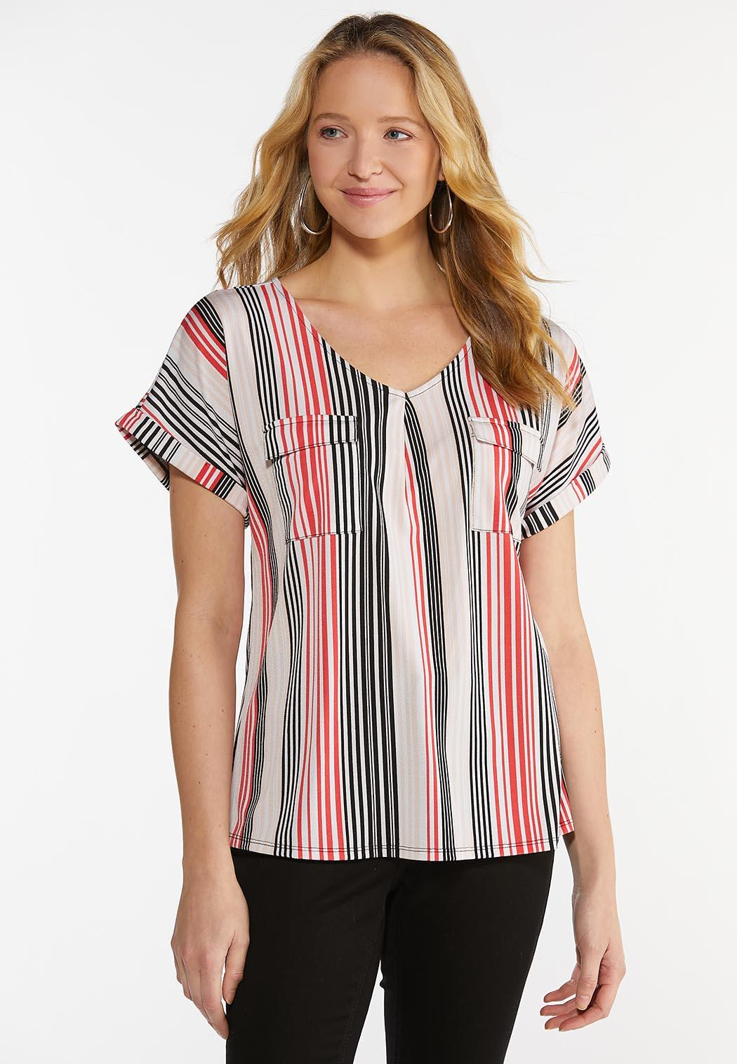 Striped Utility Top