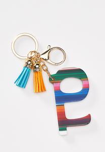 Tasseled Door Opener Key Chain
