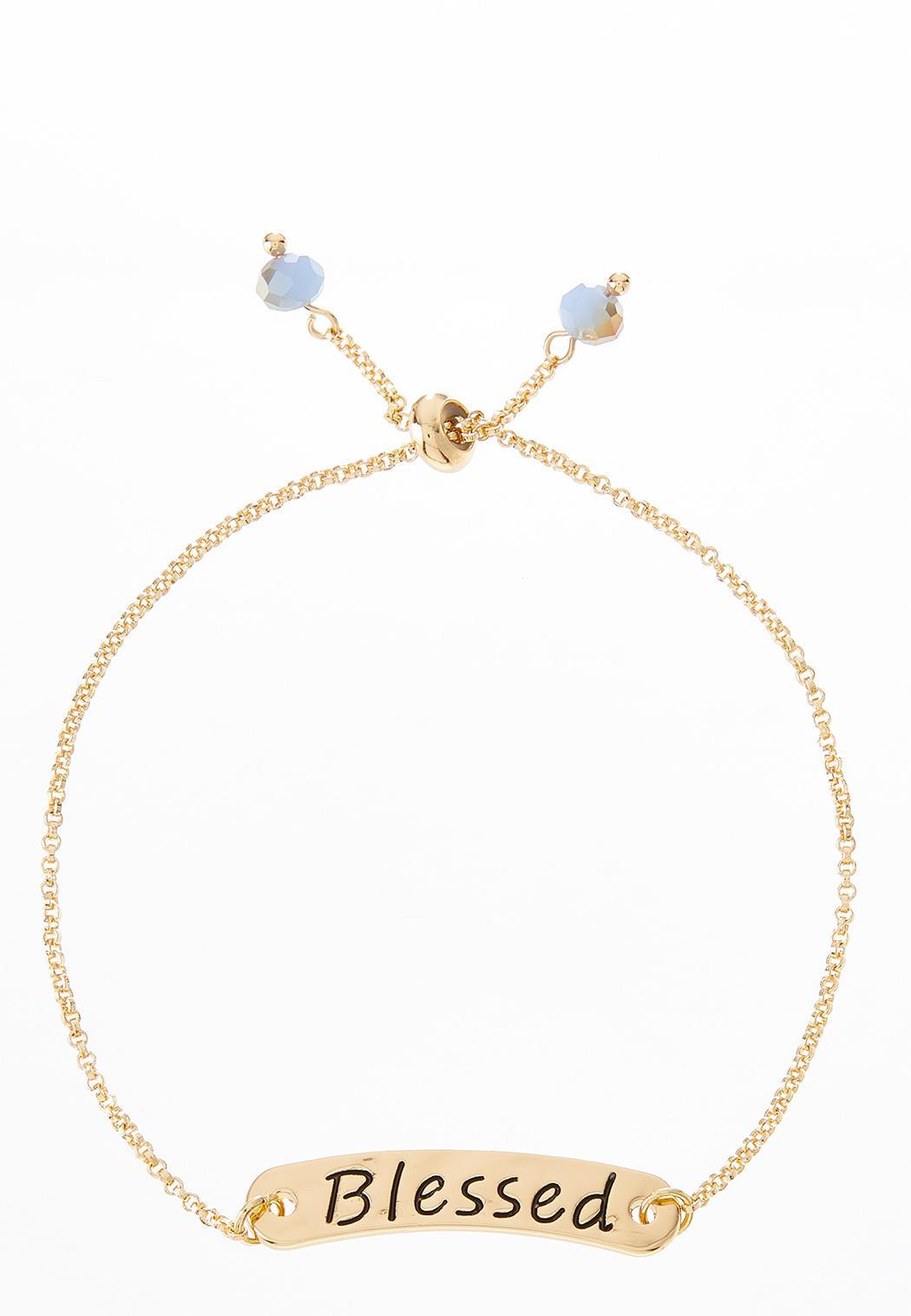 Blessed Pull String Bracelet