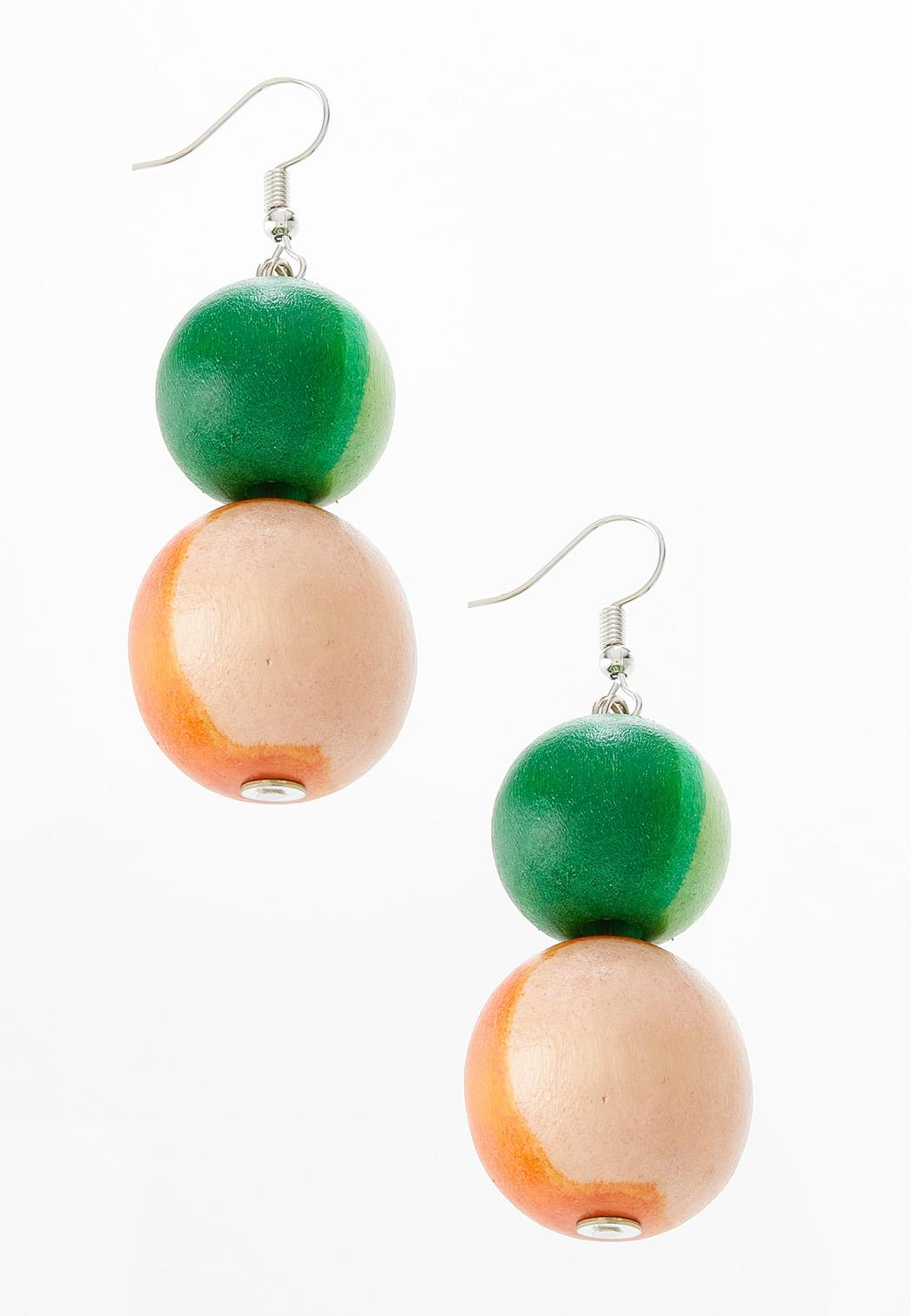 Gradient Ball Earrings
