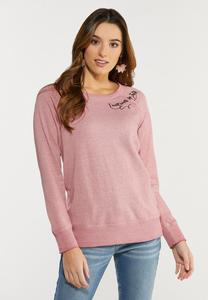 Plus Size Walk By Faith Sweatshirt
