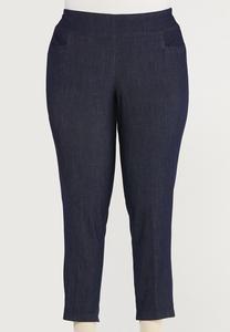 Plus Size Dressy Ankle Pants