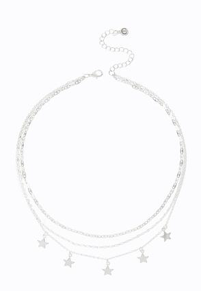 Star Charm Layered Necklace