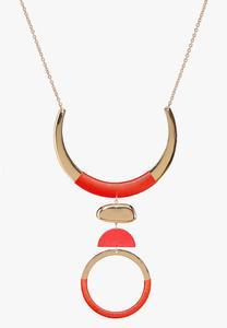 Mod Wire Thread Necklace