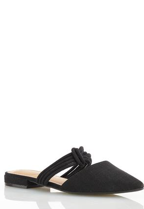 Twisted Strap Mules