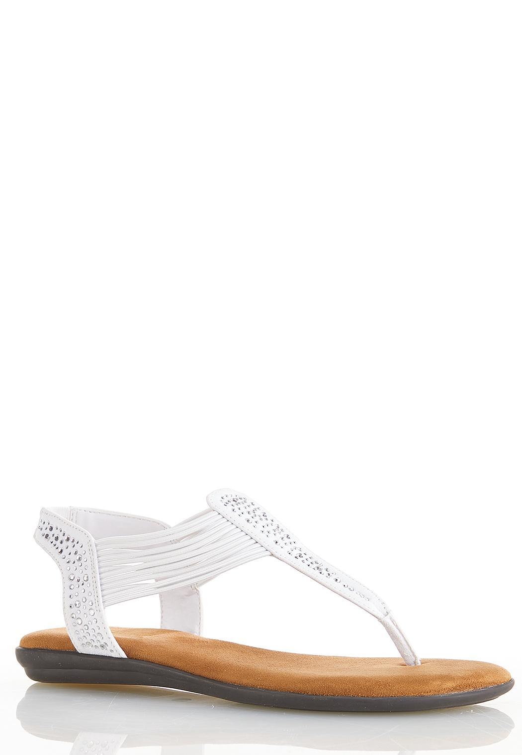 Embellished Comfort Sandals