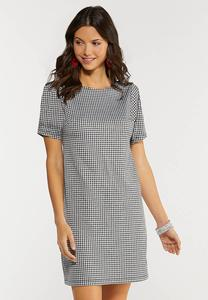 Plus Size Gingham Dress