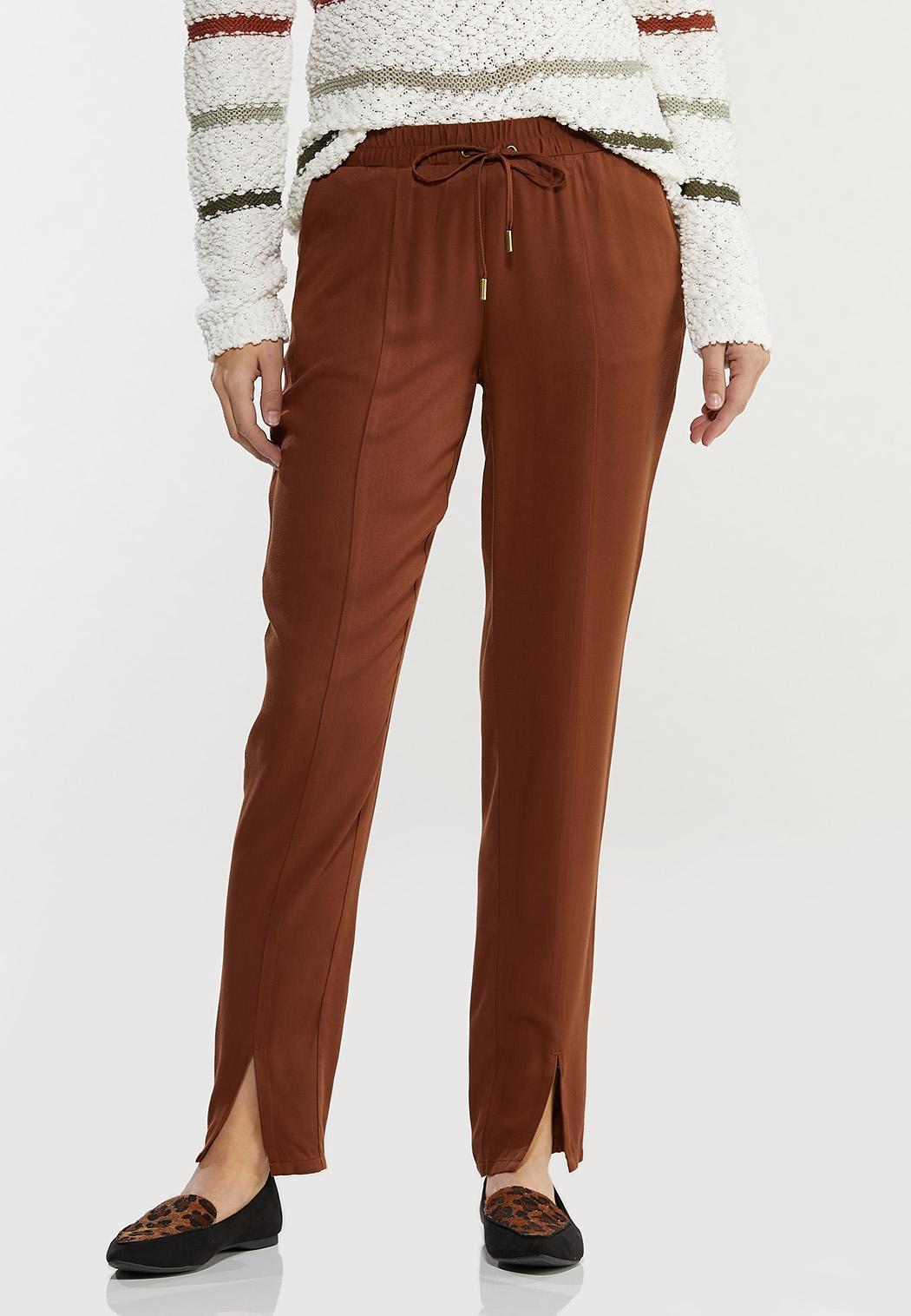 Split Ankle Utility Pants