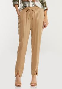 Split Ankle Utility Pants