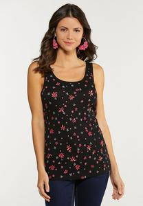Dainty Floral Tank