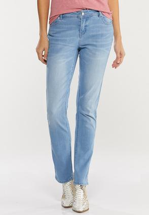 Shape Enhancing Straight Leg Jeans