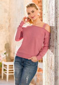 Plus Size Cold Shoulder Sweatshirt