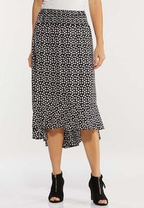 Daisy Floral Midi Skirt