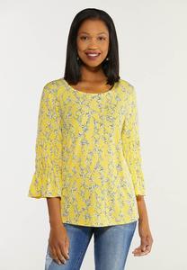Plus Size Sunshine Bloom Top