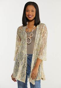 Plus Size Sunshine Paisley Kimono