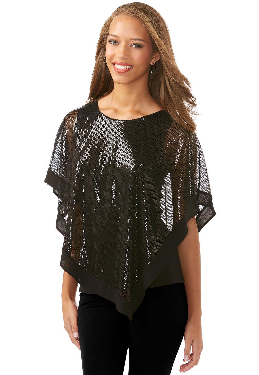 Cato fashions for Handkerchief shirt plus size