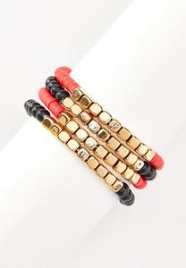 Morning Night Bead Bracelet Set